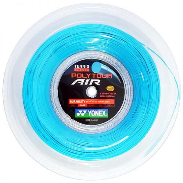 Струны для тенниса Yonex Poly Tour Air Sky Blue (200m)