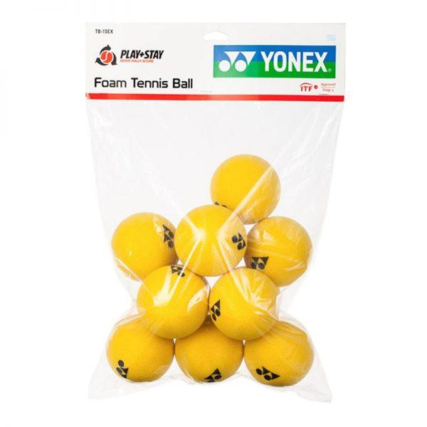Мячи для большого тенниса YONEX FOAM TENNIS BALL (12 PCS)