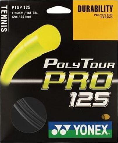 Комплект струны Yonex Poly Tour Pro 125 Graphite (12m)