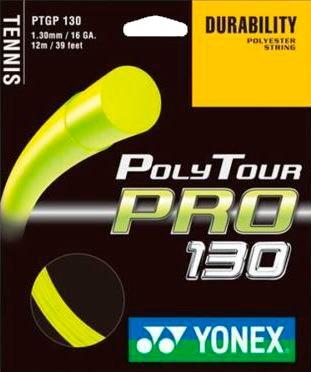 Комплект струны Yonex Poly Tour Pro 130 Flash Yellow (10m)