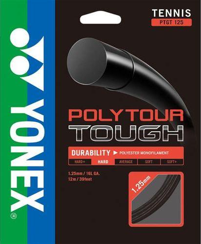 Комплект струны Yonex Poly Tour Tough 125 Black (12m)