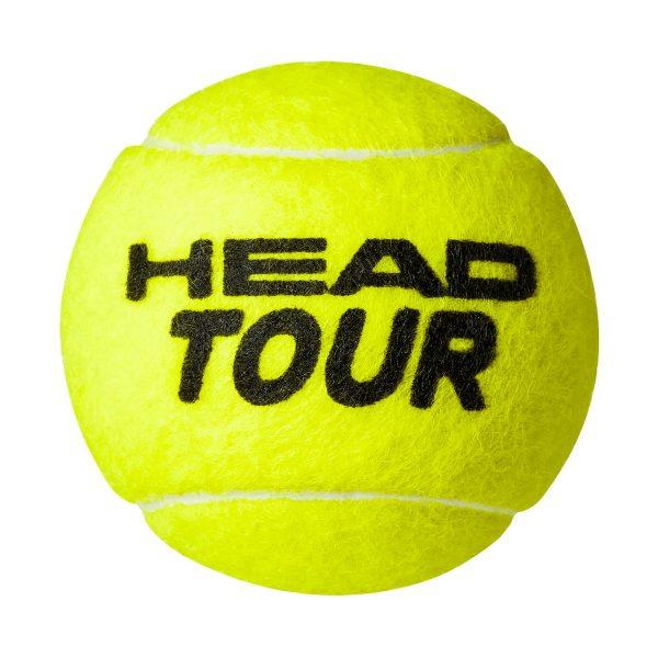 Мячи для тенниса HEAD TOUR 2019, 4 мяча в упаковке