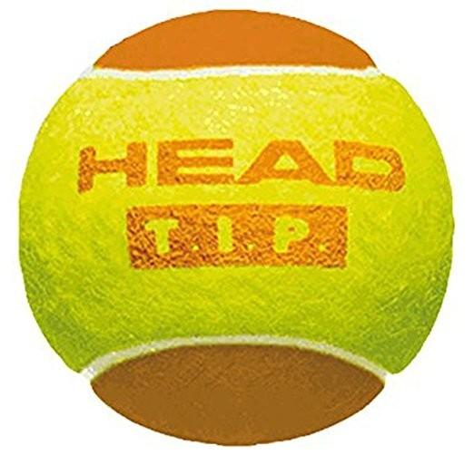 Детские мячи для тенниса HEAD TIP orange, 3 мяча в упаковке