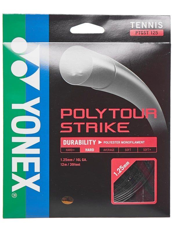 Комплект струны Yonex Poly Tour Strike 125 Black (12m)