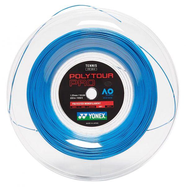 Струны для тенниса Yonex Poly Tour Pro Deep Blue (200m)