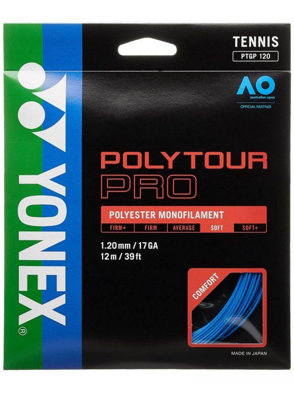 Струны для тенниса Yonex Poly Tour Pro Deep Blue (12m)