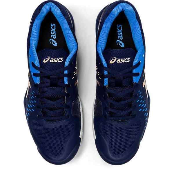Кроссовки Asics GEL-CHALLENGER 12 Clay black/blue