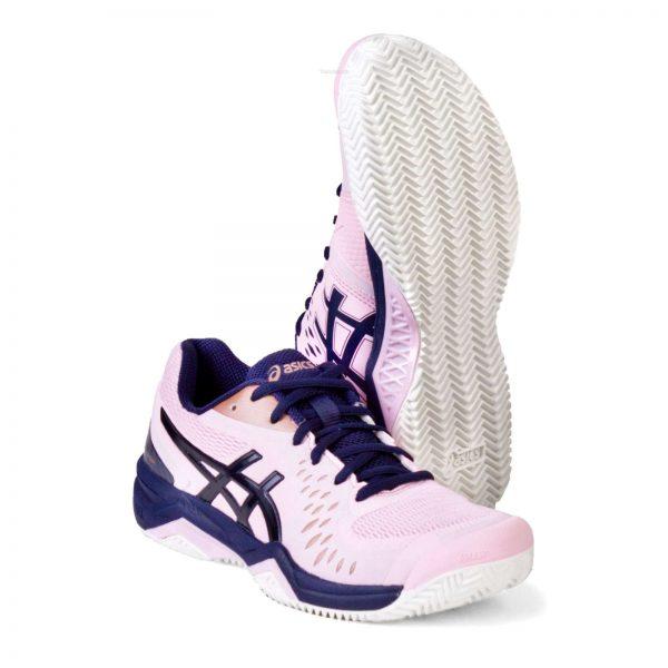 Кроссовки Asics GEL-CHALLENGER 12 Clay light-pink/navy