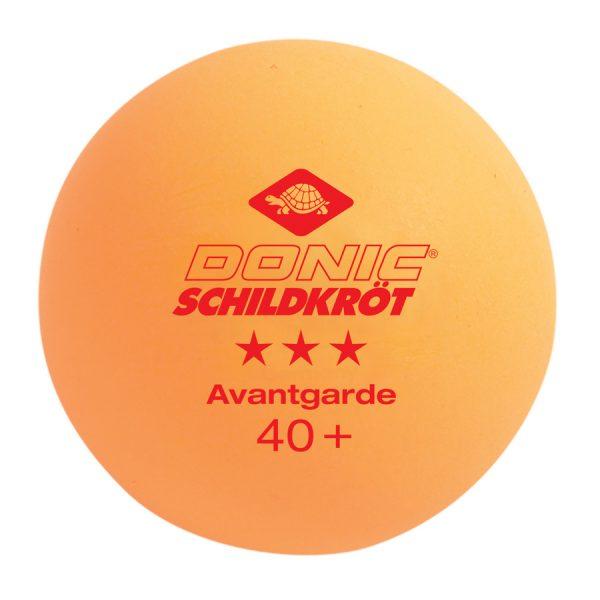 Donic Avantgarde 3* 40+ Orange (3шт.)