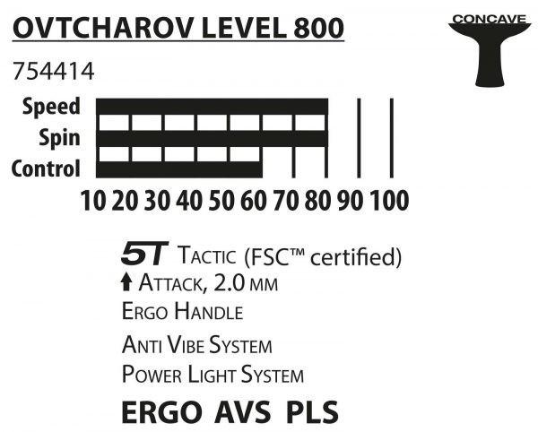 Ракетка Ovcharov Level 800