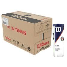 Теннисные мячи Wilson Roland Garros All Court X3 24 банки (72шт.)