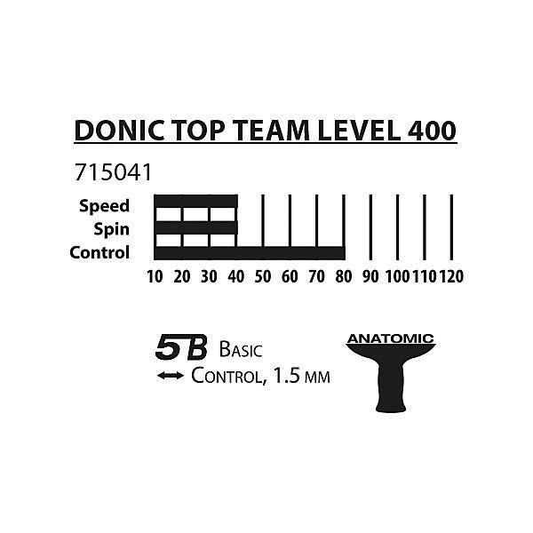 Ракетка Donic Top Teams Level 400