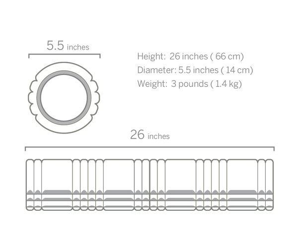 Массажный валик Trigger Point GRID 2.0 Foam Roller