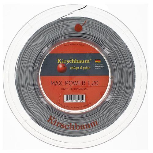 Струны для тенниса Kirschbaum MAX POWER (200m) Grey