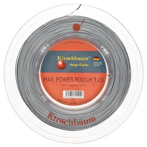 Струны для тенниса Kirschbaum MAX POWER ROUGH (200m) Grey