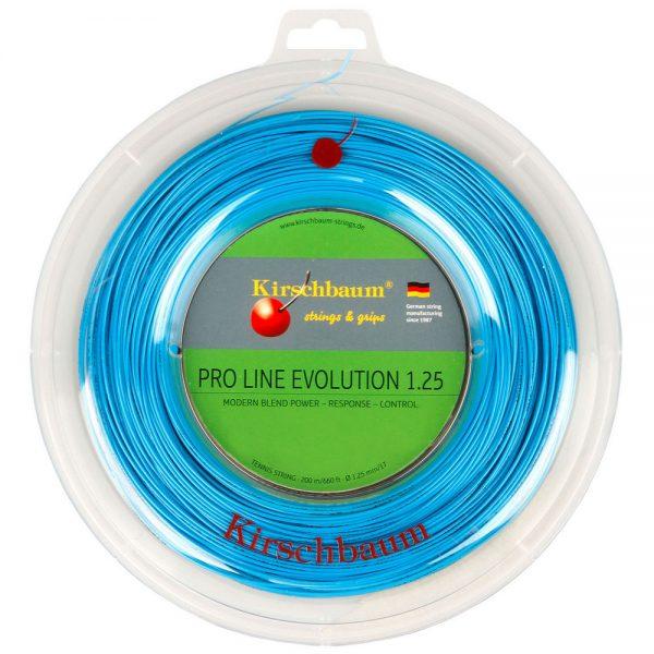 Струны для тенниса Kirschbaum PRO LINE EVOLUTION (200m) Blue