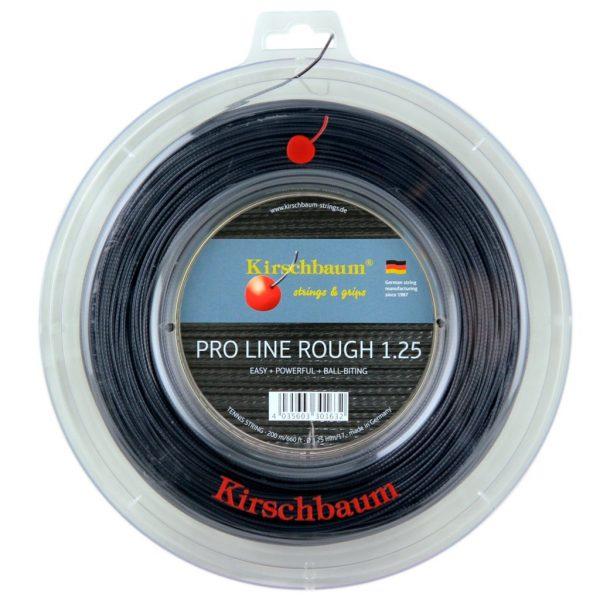 Струны для тенниса Kirschbaum PRO LINE ROUGH (200m) Black