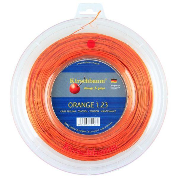 Струны для тенниса Kirschbaum SUPER SMASH (200m) Orange