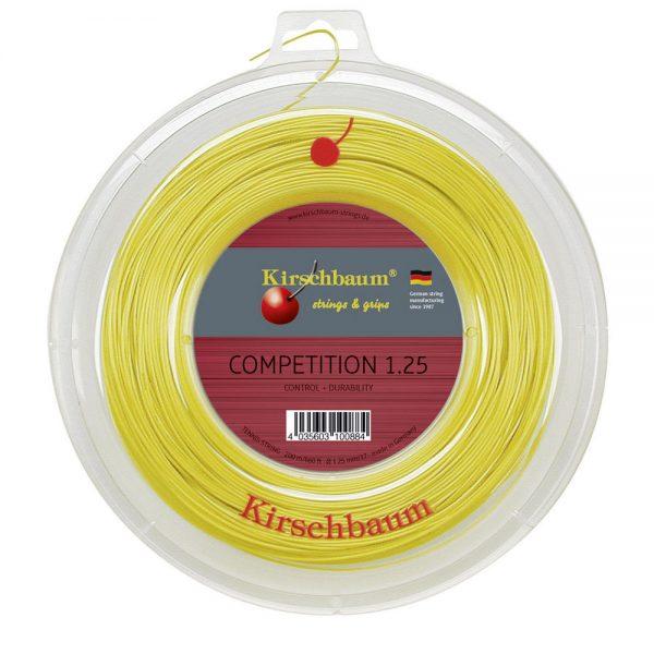 Струны для тенниса Kirschbaum COMPETITION (200m) Honey