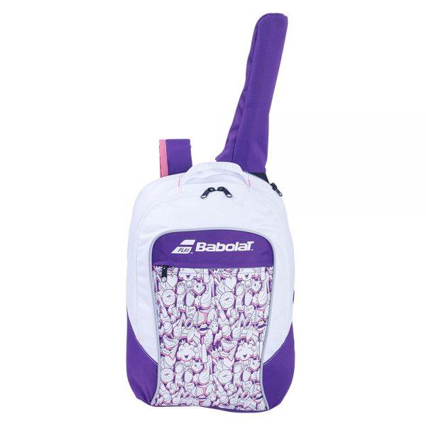 Рюкзак Babolat BACKPACK JUNIOR CLUB White/Purple 2020