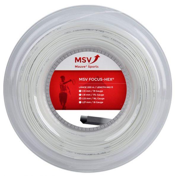 Струны для тенниса MSV FOCUS HEX White