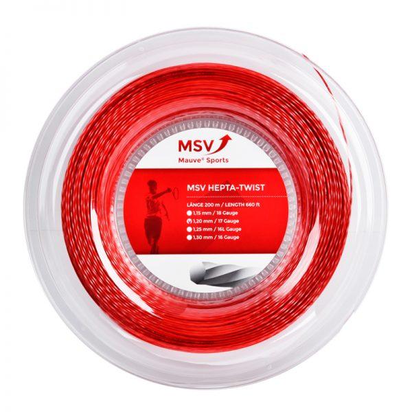 Струны для тенниса MSV HEPTA-TWIST Red