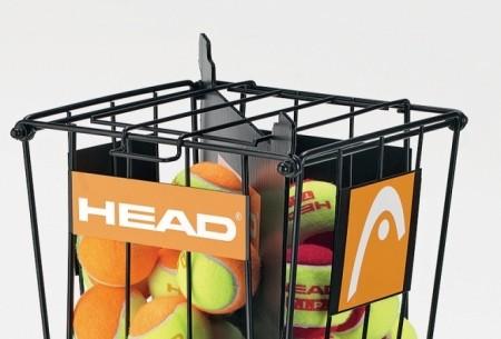 Корзина для мячей Head BALL BASKET WITH SEPARATOR