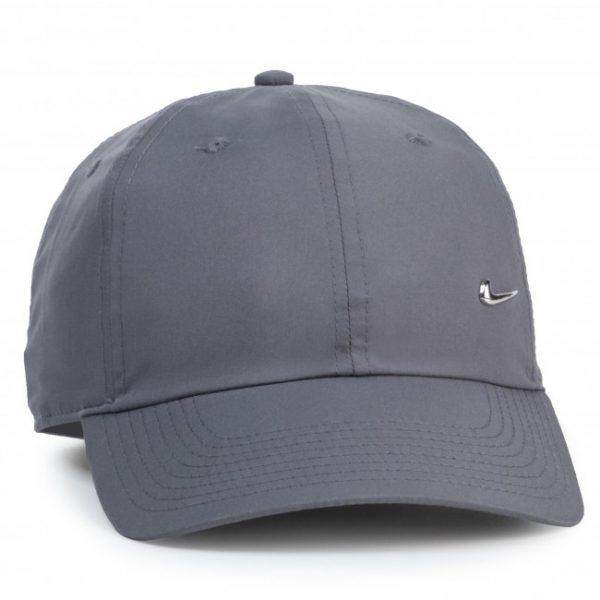 Кепка Nike H86 Cap Metal Swoosh gray