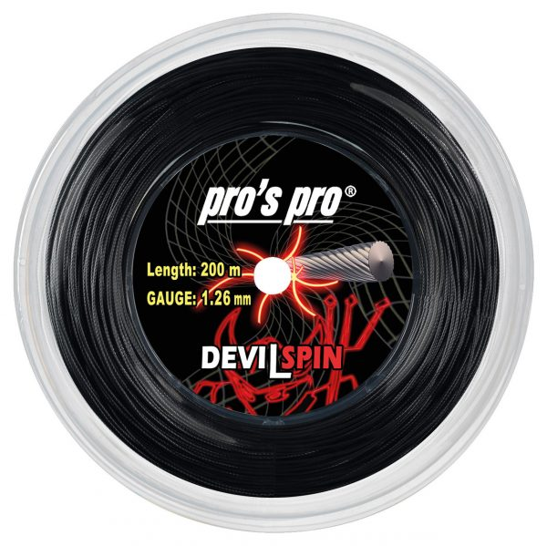 Струны для тенниса Pro's Pro DEVIL SPIN