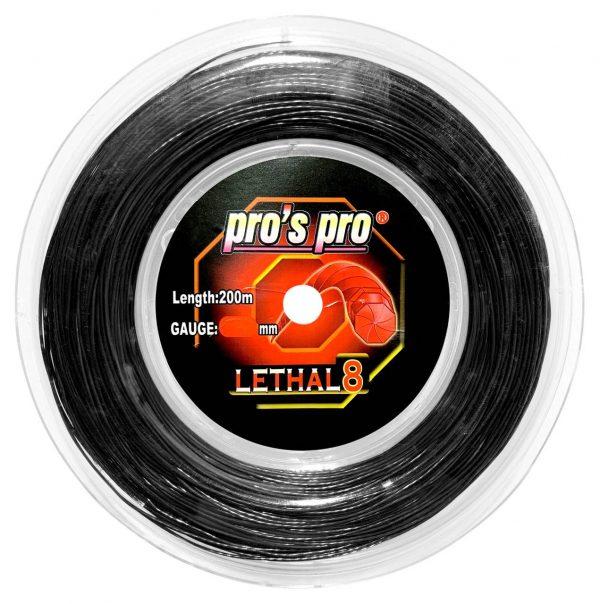 Струны для тенниса Pro's Pro LETHAL 8