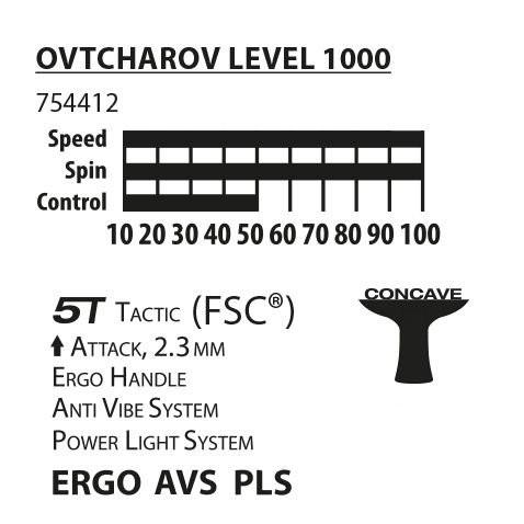 Ракетка Donic Ovtcharov Level 1000