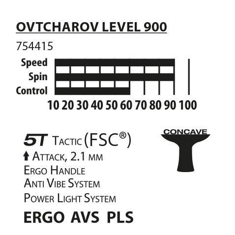 Ракетка Donic Ovtcharov Level 900