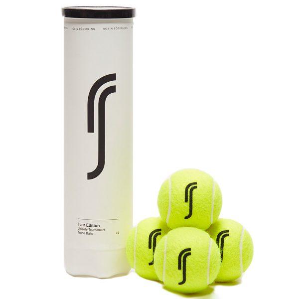 Мячи теннисные Robin Soderling TOUR EDITION  x4