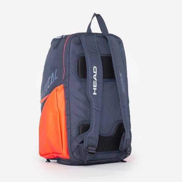 Рюкзак Head Rebel Backpack 2020 Orange/grey