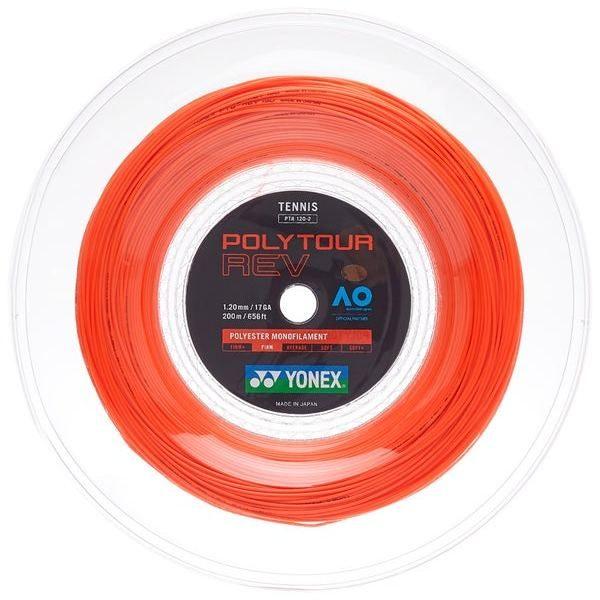 Струна Yonex Poly Tour Rev Bright Orange (200m)