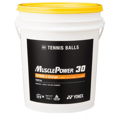 Мячи для большого тенниса YONEX MUSCLE POWER 30 TENNIS BALLS